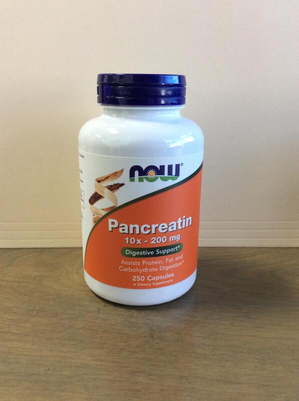 Pancreatin 10x 200mg 250ct