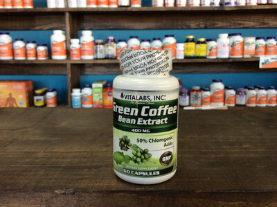 Green Coffee Bean Extract 400mg (60 caps)
