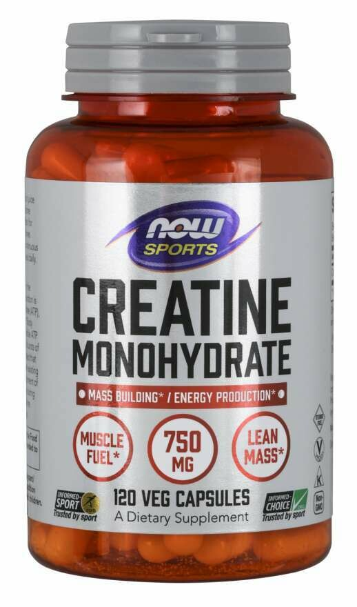 Creatine Monohydrate 750mg