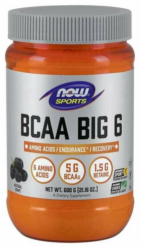 BCAA Big 6 Powder Grape