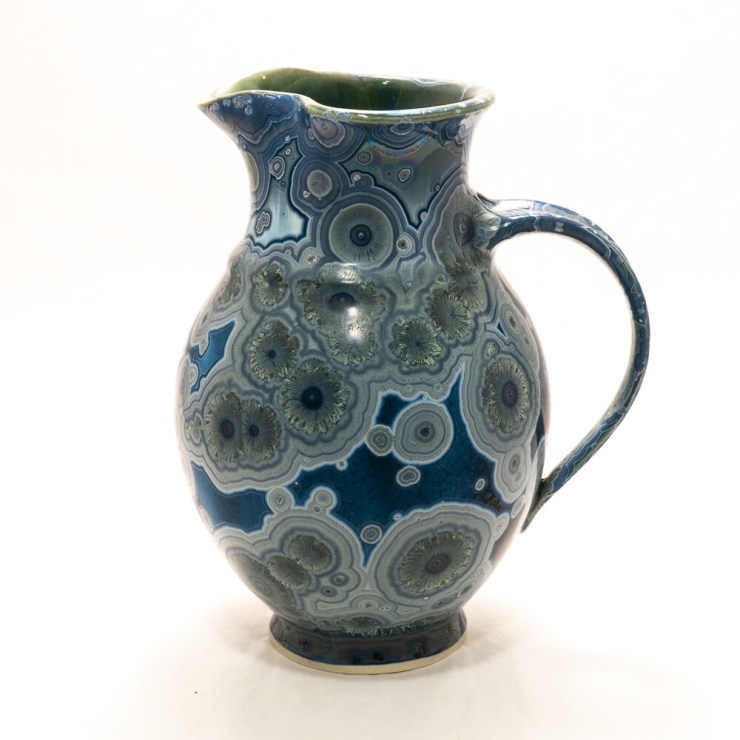 Crystalline Glaze Small Pitcher by Andy Boswell #ABP20294