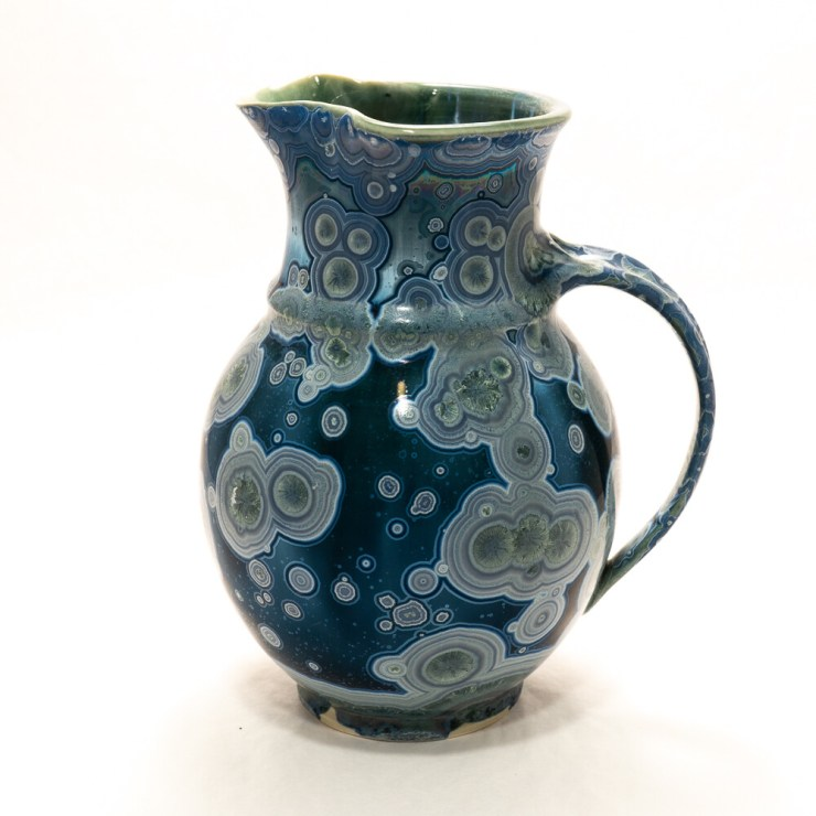 Crystalline Glaze Small Pitcher by Andy Boswell #ABP20293