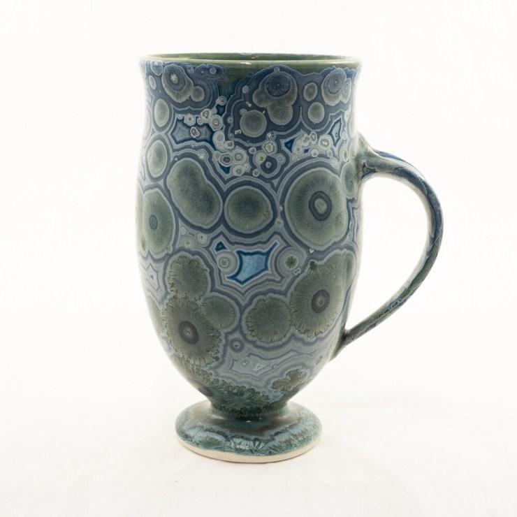 Crystalline Glaze Latte Mug By Andy Boswell ABM2011103