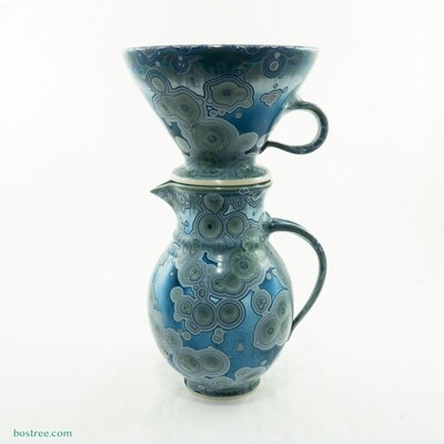 Crystalline Glaze Coffee Pour-Over by Andy Boswell #ABP113