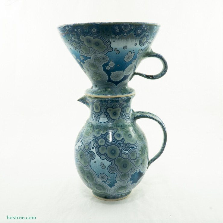 Crystalline Glaze Coffee Pour-Over by Andy Boswell #ABP112
