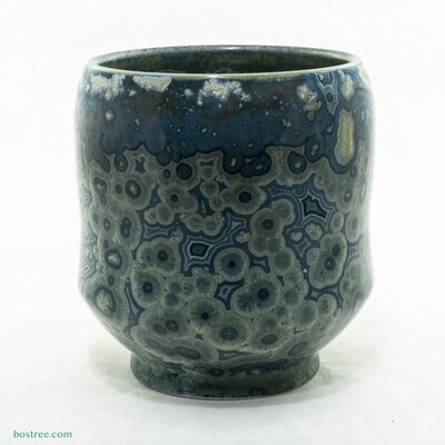 Crystalline Glaze Yunomi Cup Andy Boswell #ABW200021c