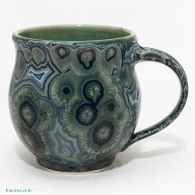 Crystalline Glaze Mug by Andy Boswell #ABM2103002