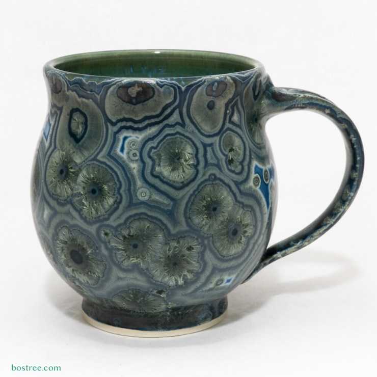 Crystalline Glaze Mug by Andy Boswell #ABM2103001