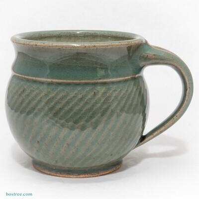 Stoneware Mug 14oz by Andy Boswell #celedon