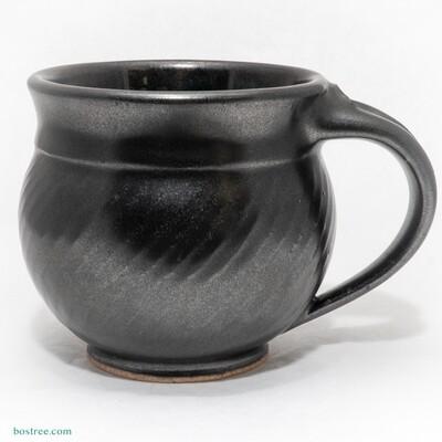 Stoneware Mug 12oz by Andy Boswell #cadilac black