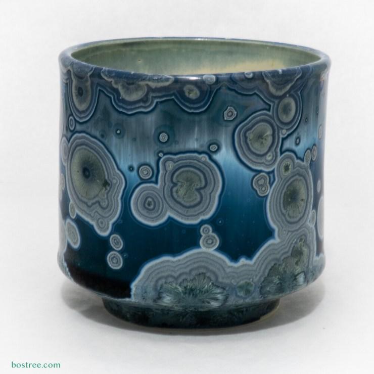 Crystalline Glaze Whiskey Sipper 12oz by Andy Boswell - Slightly Irregular