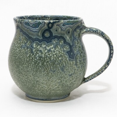 Crystalline Glaze Mug by Andy Boswell 01165