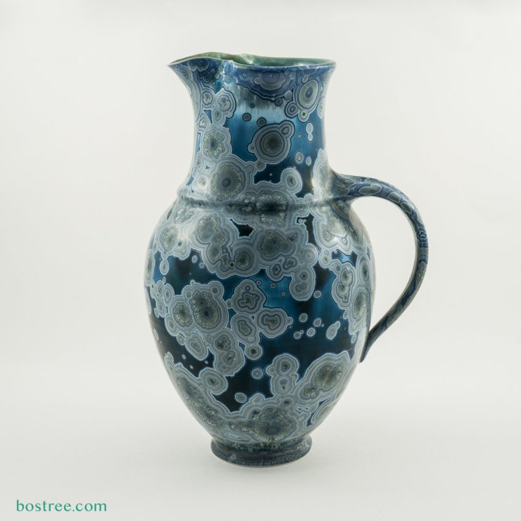 Crystalline Glaze Pitcher by Andy Boswell #ABP0015