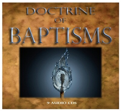 DOCTRINE of BAPTISMS (2018)