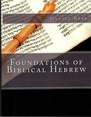 FOUNDATIONS OF BIBLICAL HEBREW (PDF download)