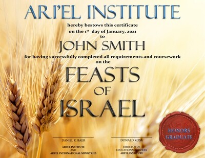 THE FEASTS OF ISRAEL Online Class
