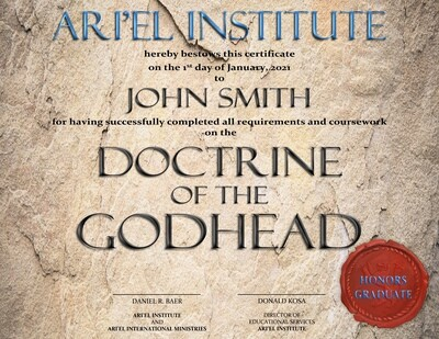 THE DOCTRINE OF THE GODHEAD Online Class