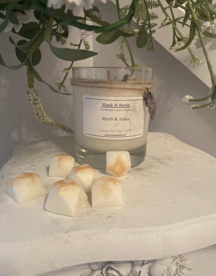 Myrrh & Tonka Soy Wax Melts (6pk)