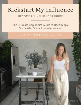 Kickstart My Influence Ebook - Become a Social Media Influencer