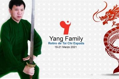 Retiro Tai Chi Espada Familia Yang 2021 Habitación Compartida