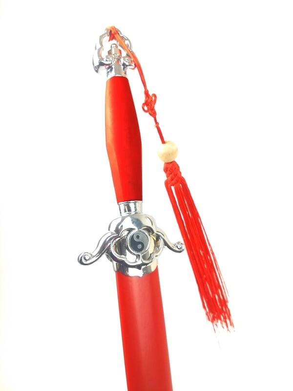 Espada De Tai Chi Yin Yang Roja Premium