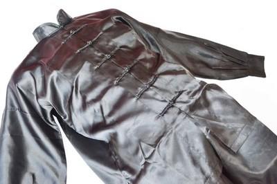 Uniforme Tai Chi y Wushu negro fabricado en poliseda