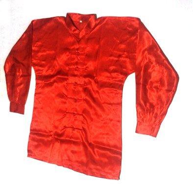 Uniforme Tai Chi / Wushu Rojo en Poliseda