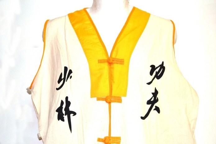 Chaleco   monje Shaolin   tradicional.