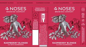 4 Noses Raspberry Blonde 6pk cn
