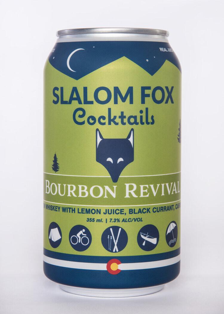 Slalom Fox Cocktails Bourbon Revival 355ml