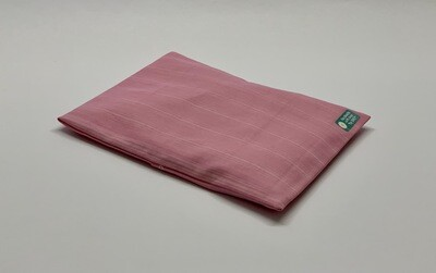 Kissen Streifen rosa