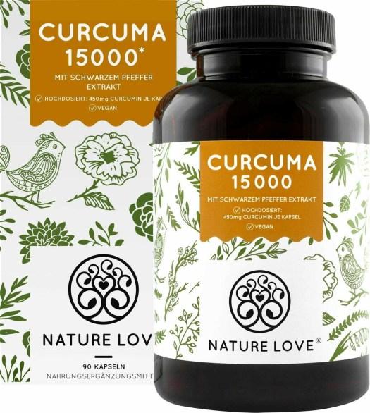 Nature Love Curcuma 15 000