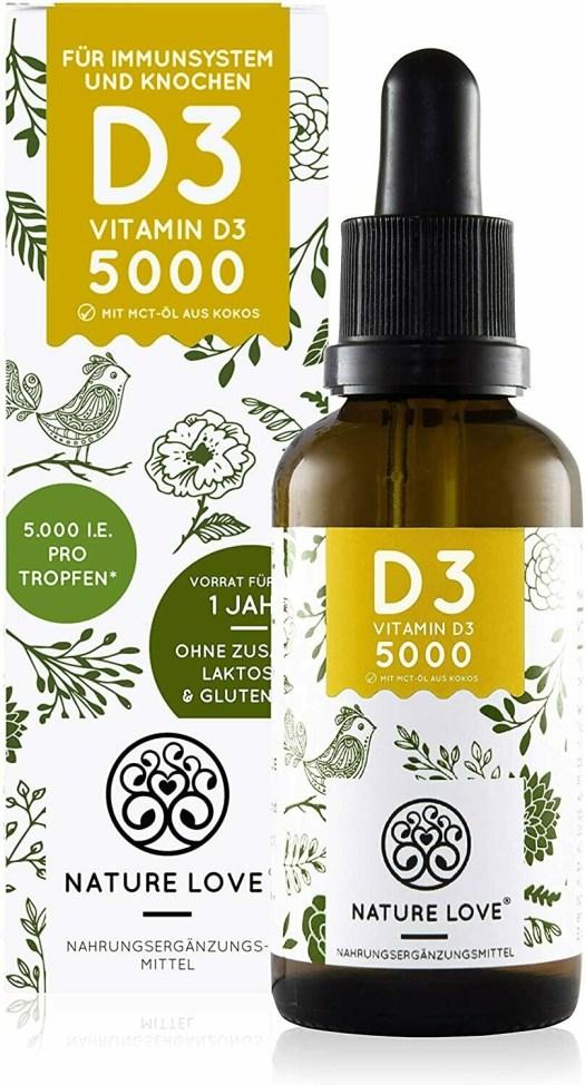 Vitamin D3 liquid in drops