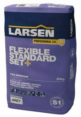 S1 Flexible Slow Set Adhesive Grey 20 kg