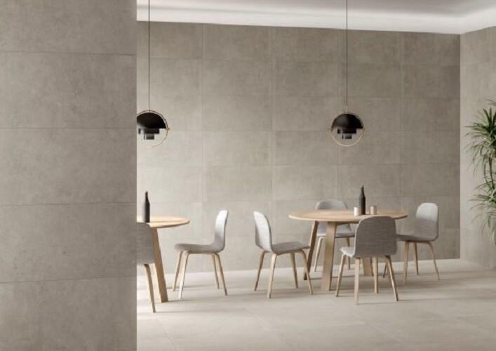 Stone Grey Porcelain Tiles 60 x 30 cm