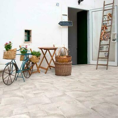 Farmhouse Porcelain Taupe Tiles