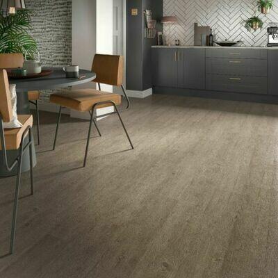 Weathered Ash ClicLux LVT Flooring  121.9 x 17.7 cm