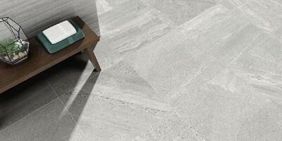 Spartia Grey Matt Porcelain Tiles 60 x 60 cm