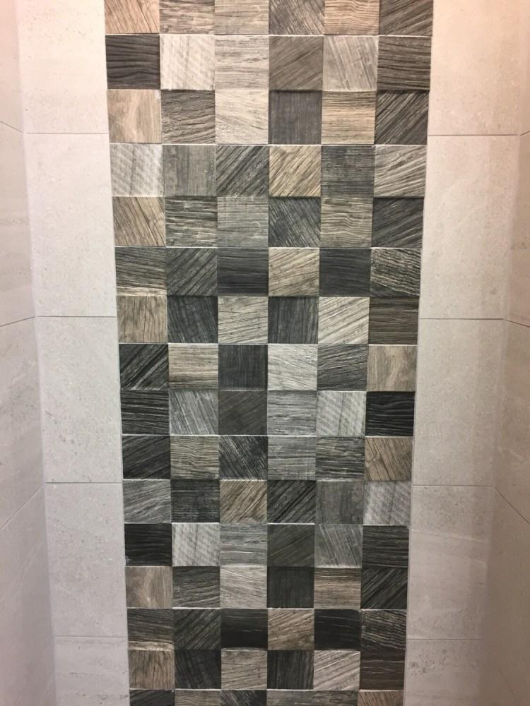 Hendaya Taupe Feature Tiles 16 x 51 cm