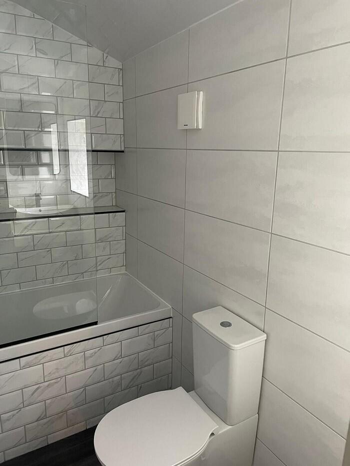 White Satin Lustre Ceramic Wall Tiles 60 x 30 cm