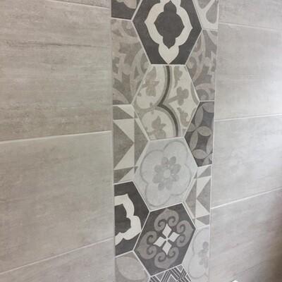 Silver Birch Matt Porcelain Tiles 60 x 30 cm