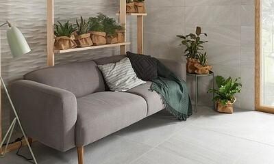 Stoneage Grey Porcelain Tiles 37 x 75 cm