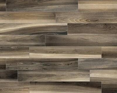 Grey Oak Porcelain Tiles 15 x 90 cm