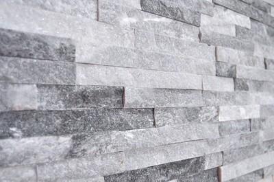 Cloud Grey Split Face Tiles 10 x 36 cm