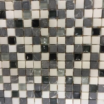 Glass Stone Mosaic Tiles 30 x 30 cm