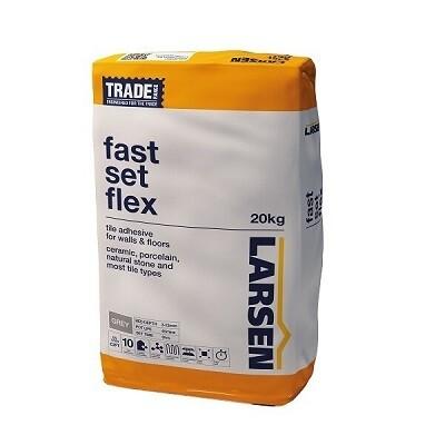 Fast Set Flex Grey Adhesive 20kg