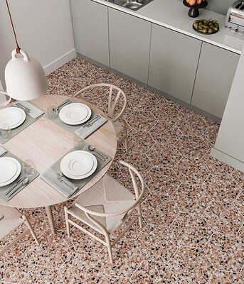 Pisa Porcelain Earth 36.8 x 32 cm