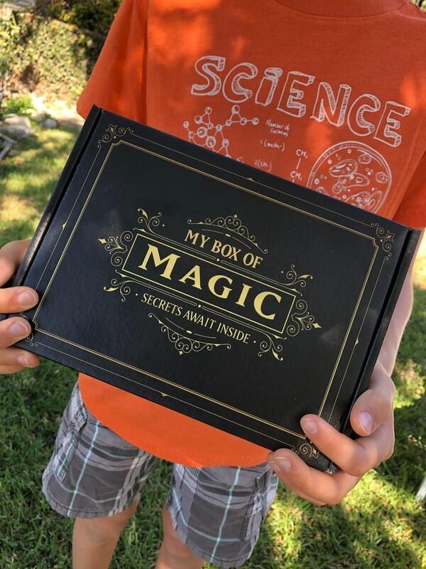 Box One: My Box Of Magic