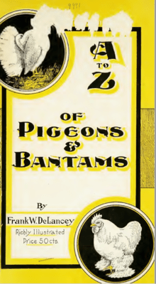 A to Z of Pigeons and Bantams by Frank Delancey