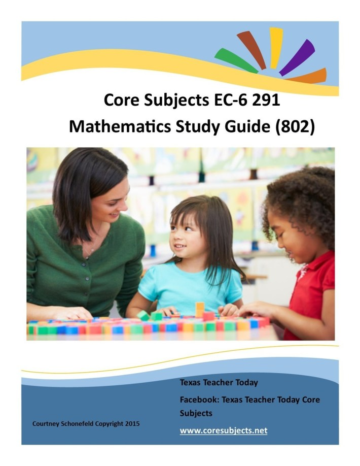Core Subjects EC-6 291 Mathematics Study Material